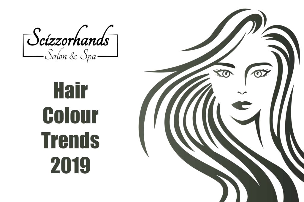 hair colour trends 2019